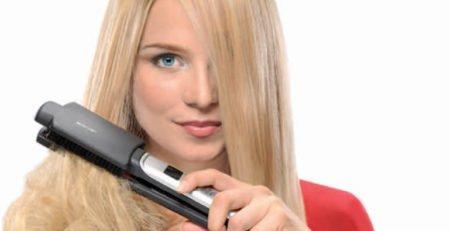 Jak prawidłowo używać prostownicy do włosów?