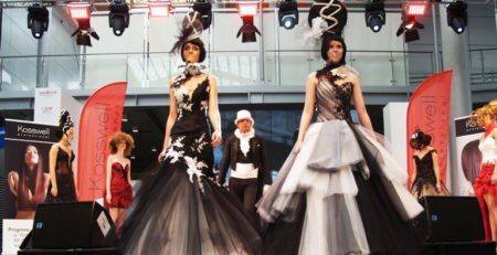 Look & BeautyVISION Poznań 2014 pokaz fryzjerski Kosswell Diamond Robert Wypych