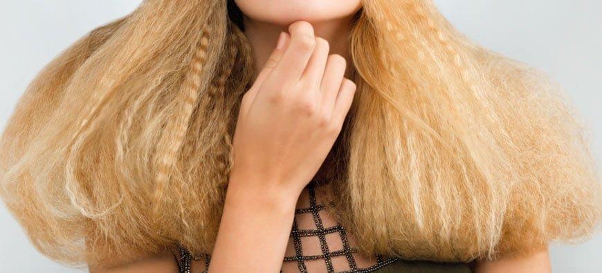 Ujarzmiamy puszące się włosy