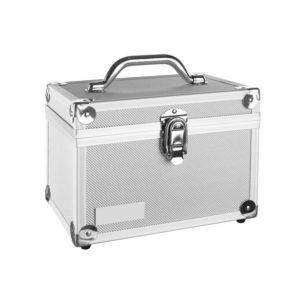 Kufer kosmetyczny, aluminiowy