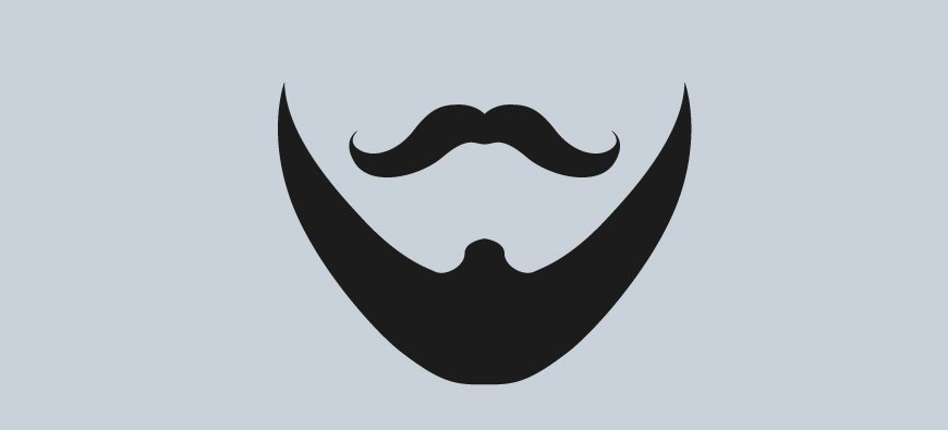 Modna broda idealnie dopasowana do kształtu twarzy