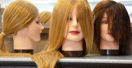 Główka fryzjerska, czyli praktyczna nauka zawodu