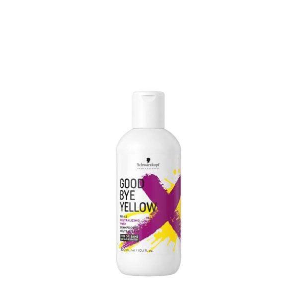 Schwarzkopf Good Bye Yellow pH 4.5 Neutralizing Shampoo Szampon neutralizujący zółte odcienie blond włosów 300ml