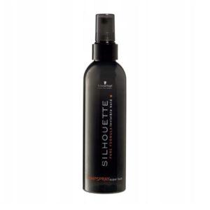 Schwarzkopf Silhouette Pump Spray Super Hold Bardzo mocno utrwalający lakier do włosów w atomizerze 200ml
