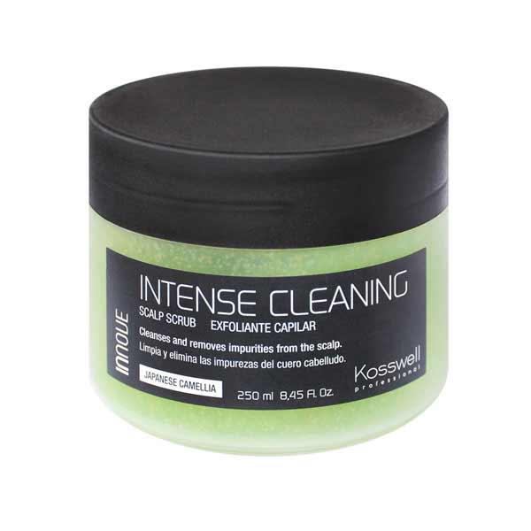 Kosswell Intense Cleaning Scalp Scrub 250ml, peeling do skóry głowy z olejem z kamelii japońskiej