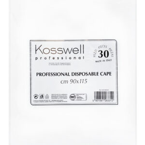 Kosswell Peleryna jednorazowa biała 30szt./op.