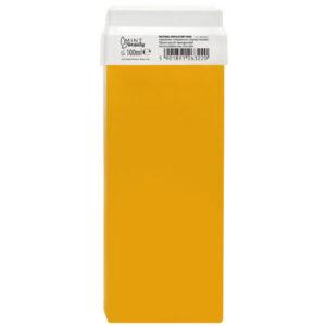 MINTbeauty Wosk do depilacji w rolce miodowy 100ml - skuteczna depilacja woskiem